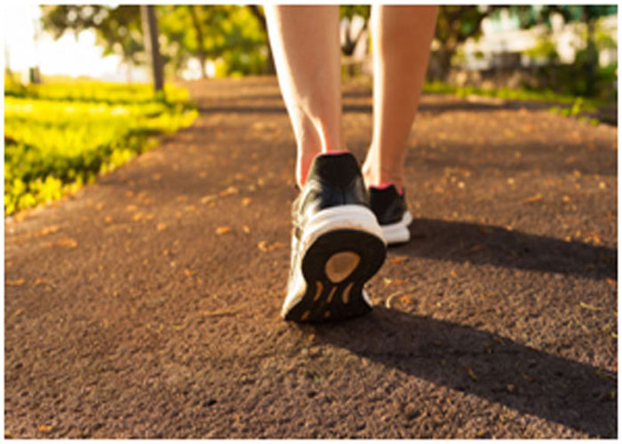 Walking is an easiest exercise to lose weight