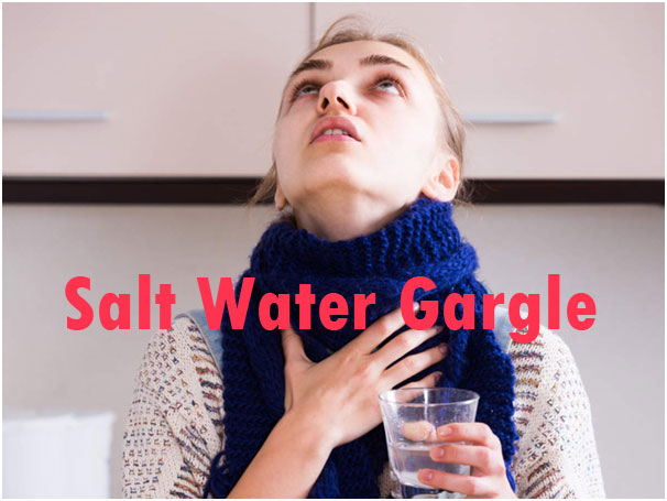 Salt Water Gargle Home Remedy To To Treat Dry Throat