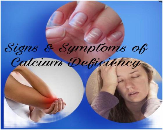 Common Signs & Symptoms Calcium Deficiency In Women