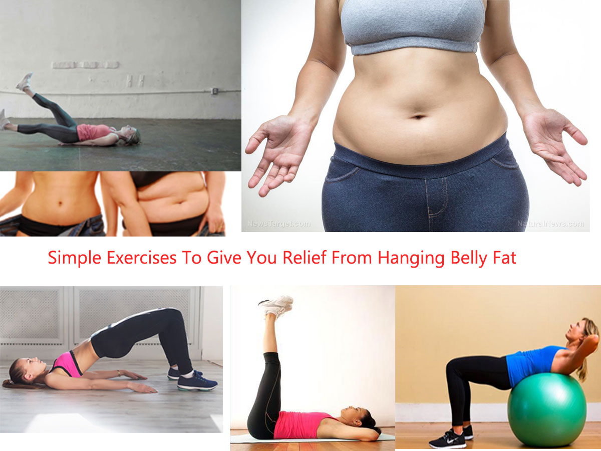 Here Are Some Simple Exercises To Give You Relief From Hanging Belly Fat