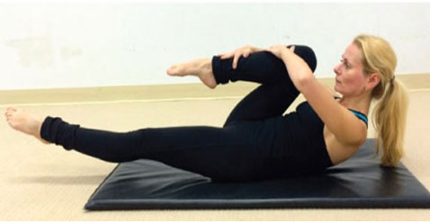 Single-Leg Circles: For Better Abs, Pelvis And Quads