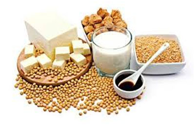 Limit your quantity of soy food