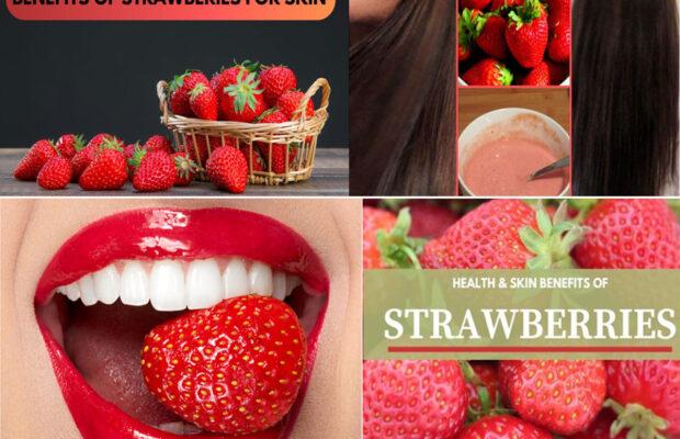 Strawberry- A Magical Wonder For Skin, Hair & Health