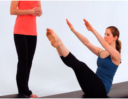 Teaser: Improve Abdominal Strength And Develop Entire Body Balance and Strength