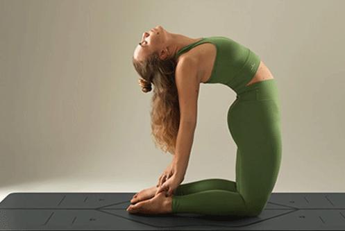 The Camel Pose - Yoga Pose To Regularise Menstrual Cycle