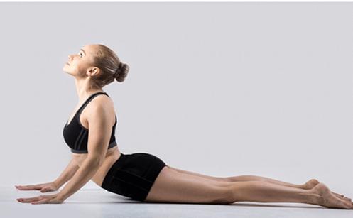 The Cobra Pose - Yoga Pose To Regularise Menstrual Cycle