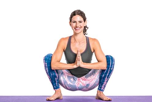 The Garland Pose - Yoga Pose To Regularise Menstrual Cycle
