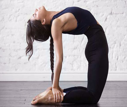 Ustrasana/ Camel Pose - Yoga Pose That Firm Up Your Breast