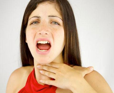 Symptoms of Uvulitis
