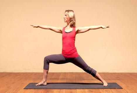 Virabhadrasana/ Warrior Pose - Yoga Pose That Firm Up Your Breast