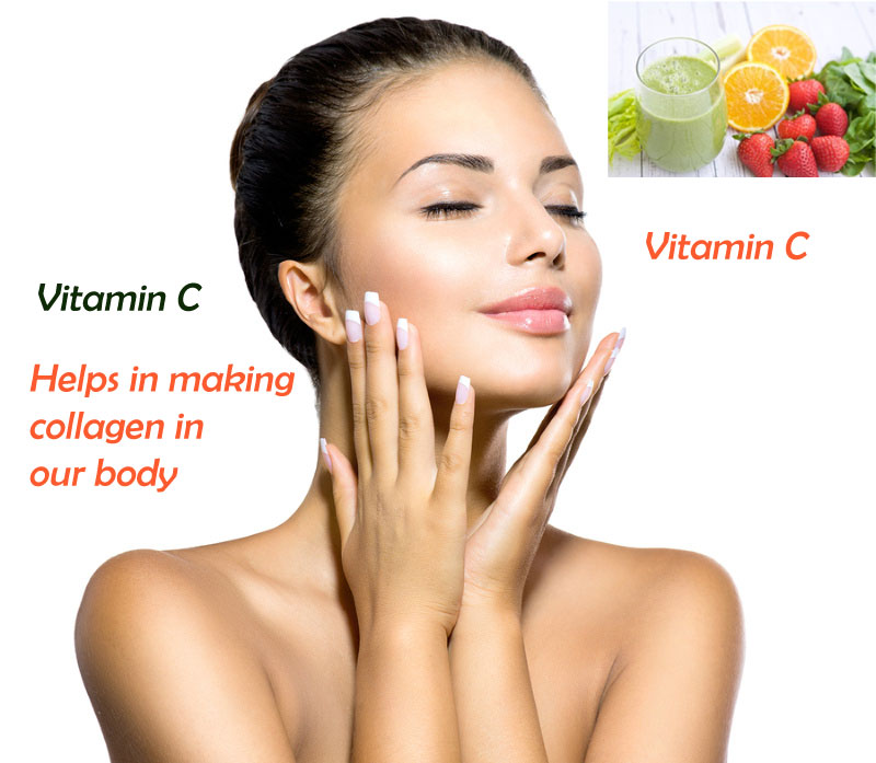 Vitamin C - Natural Way To Stimulate Collagen Levels In The Skin