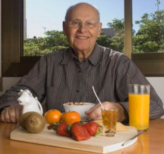 Vitamins and Minerals Healthy Diet for Elderly People