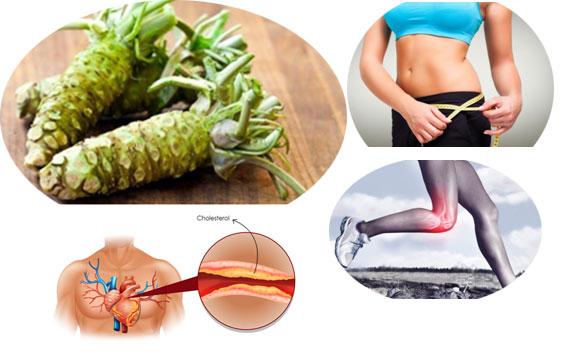 Wasabi Has Great Health Benefits