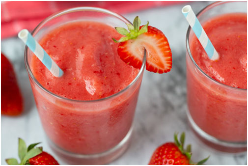 Watermelon And Strawberry Smoothie