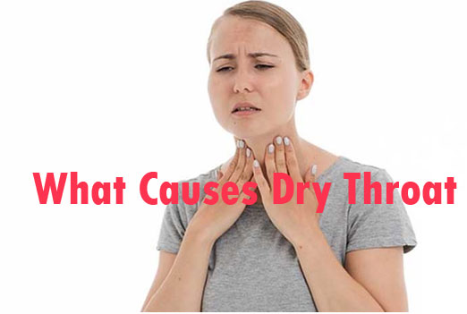 What Causes Dry Throat