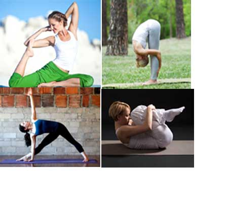 Yoga Asanas para uma pele incandescente